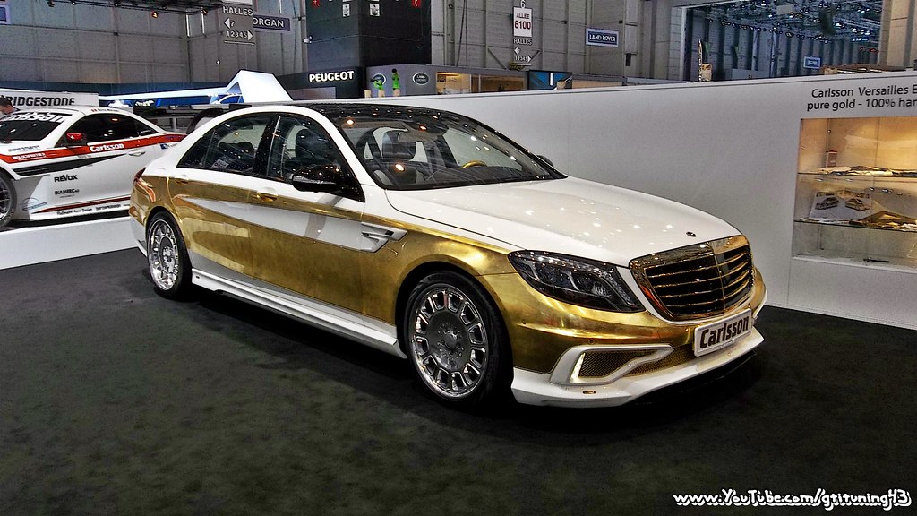GOLDEN MERCEDES S600 by CARLSSON | Come check out my ...