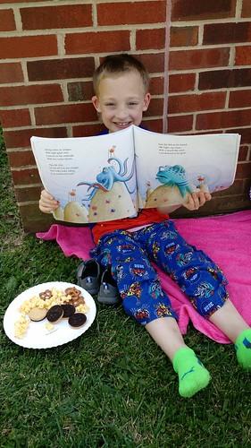 May 25 2016 Book Feast 1st grade