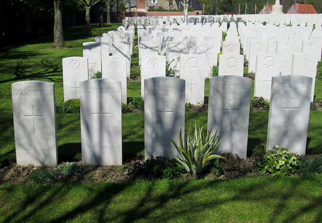 Hooge Crater Cemetery Communal Graves