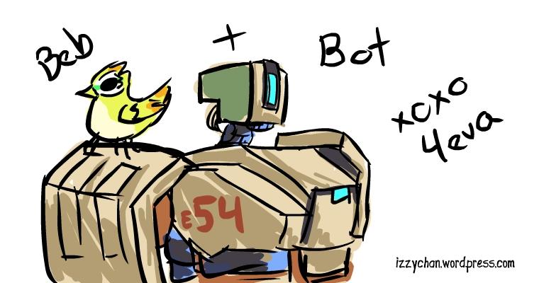 bird and bot team
