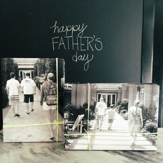 DIY Father's Day Gift Wrap + Staples Engineer Prints
