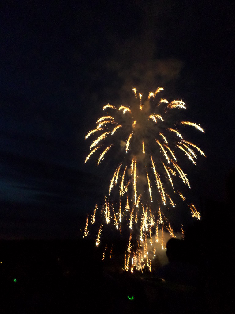 Fireworks on the 4th of July at Lansdowne Celebrates America.