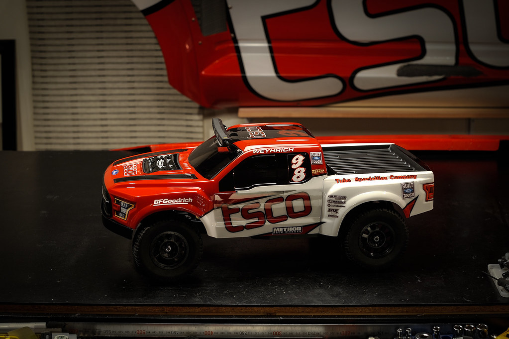 1/10 scale RC body TSCO Racing custom paint Ford F-150 rap ...