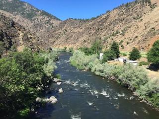 Cascade Range, Shasta River California 3 July 2016