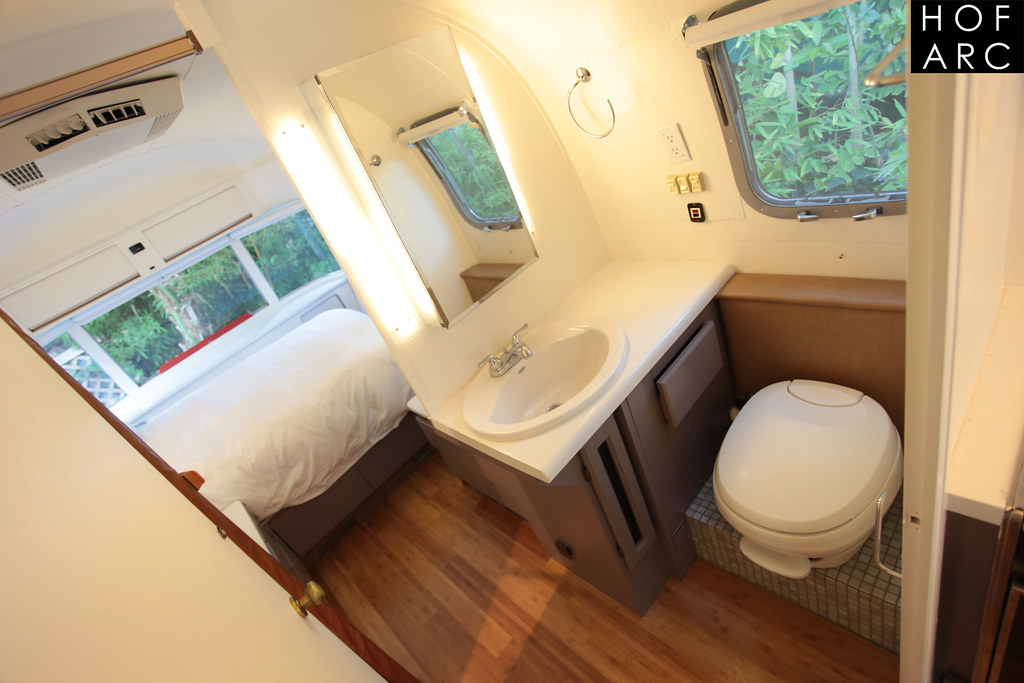 Airstream bathroom