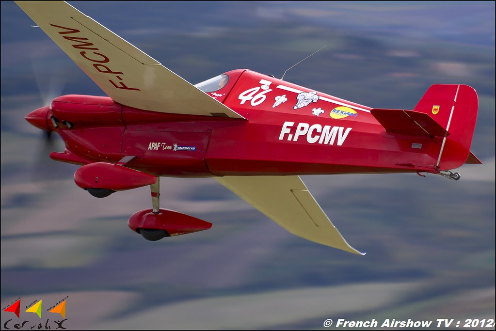 Cassutt IIIM Racer - F-PCMV Cervolix Plateau de Gergovie Auvergne Comment faire photos de Meeting Aerien 2012