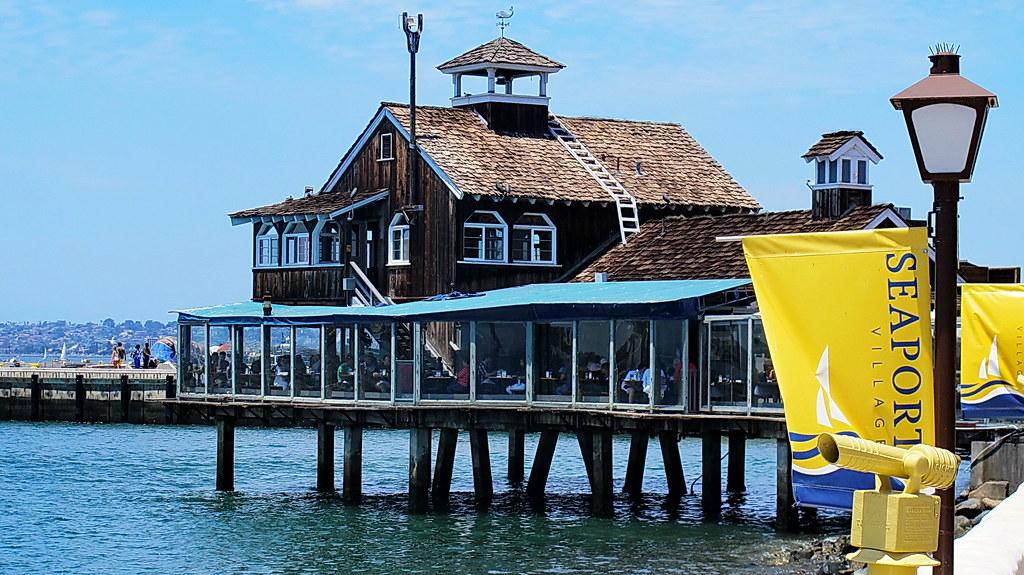 Ship A Car >> Seaport Village Restaurant - San Diego | We visited San ...