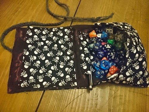 Dice bag roll | by kostika