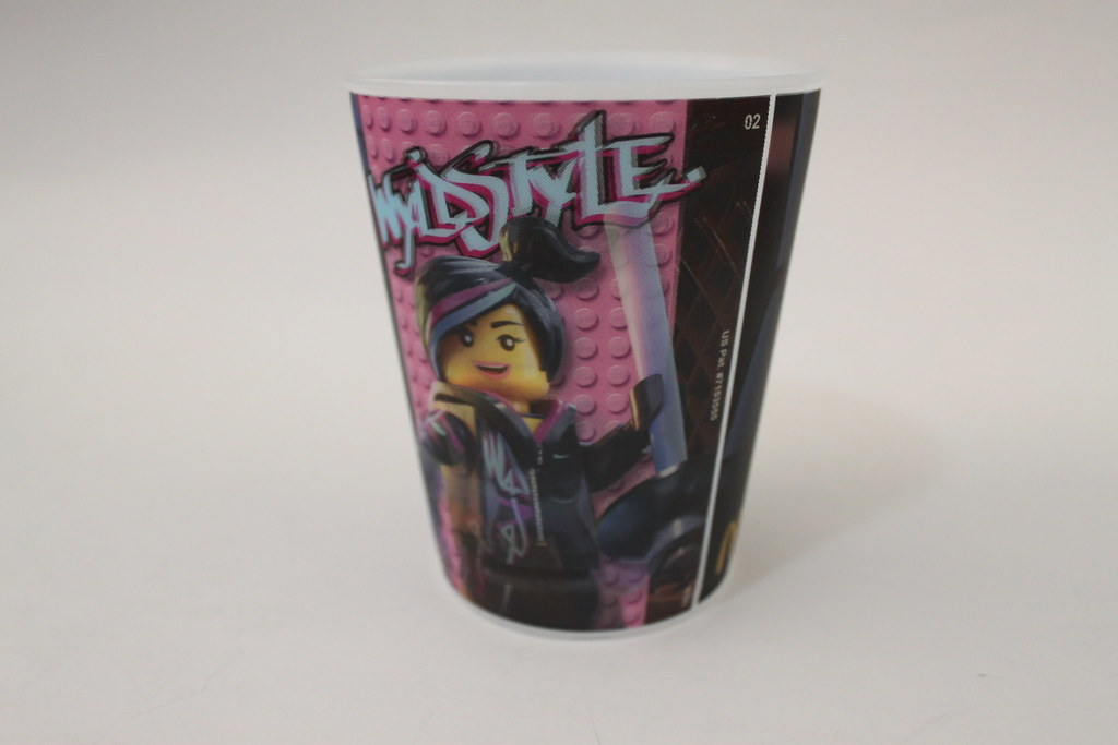 Mcdonalds The Lego Movie Wyldstyle Cup Read More Here