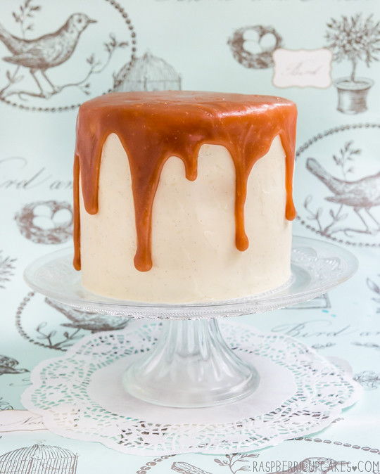 Brown Butter Layer Cake with Vanilla Bean Icing & Salted C ...