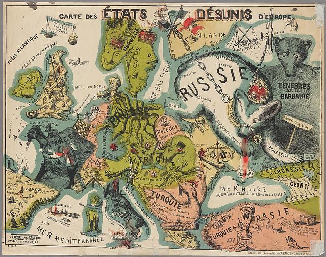 Disunited States of Europe, 1864