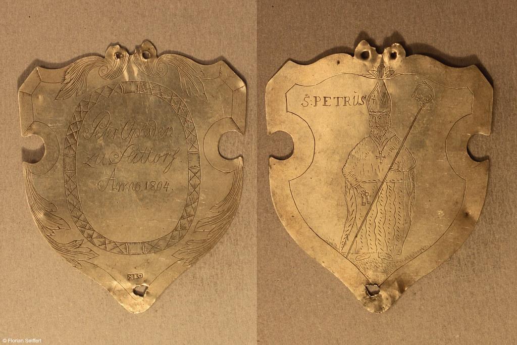 Koenigsschild Flittard von opladen peter aus dem Jahr 1804
