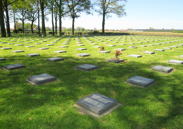 German War Graves, Langemark, Belgium