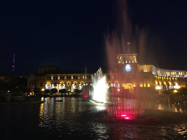 Plaza de la República de Ereván (Armenia)