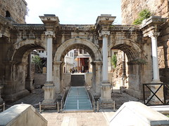 Check out the Hadrian gate in Antalya - Things to do in Antalya