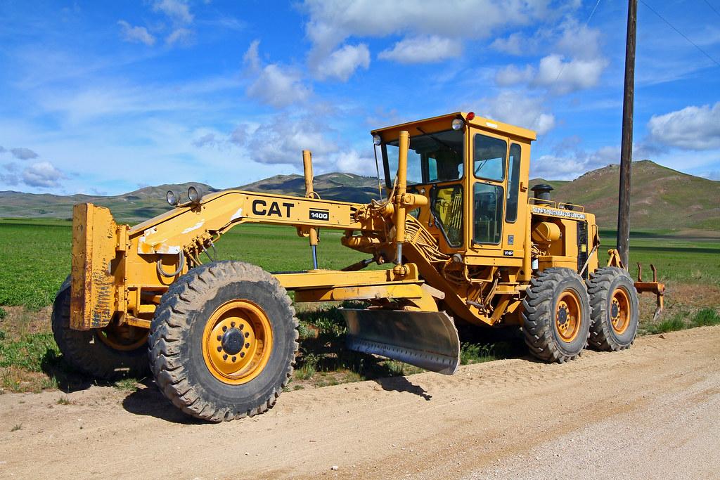 Cat 140g Motor Grader The 140g Motor Grader Has A Direct