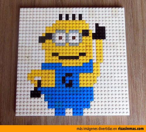 Minion hecho con piezas de lego minion hecho con piezas - Piezas lego gigantes ...
