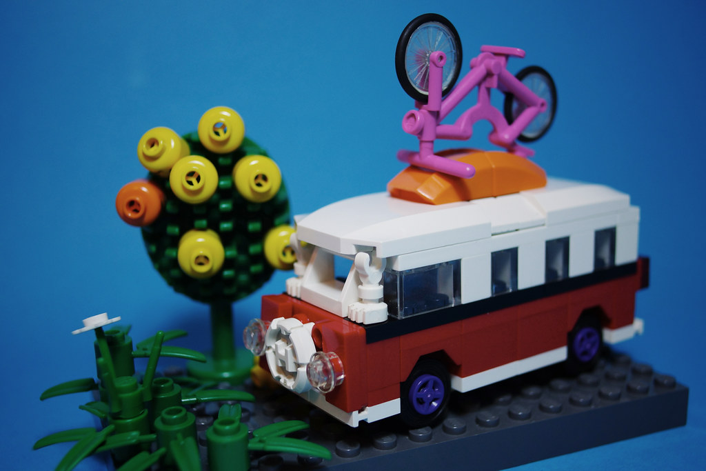 lego mini volkswagen t1 camper van song zhen flickr. Black Bedroom Furniture Sets. Home Design Ideas