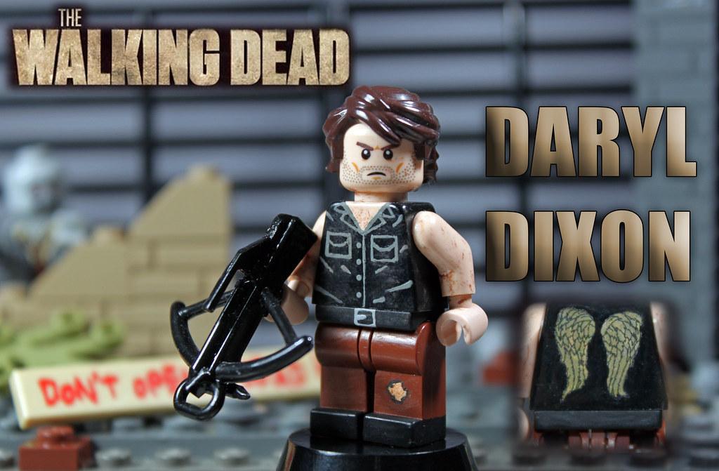 custom lego the walking dead season 4 daryl dixon flickr. Black Bedroom Furniture Sets. Home Design Ideas