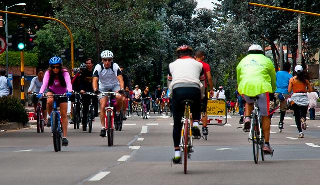 哥倫比亞首都波哥大(Bogota)街頭