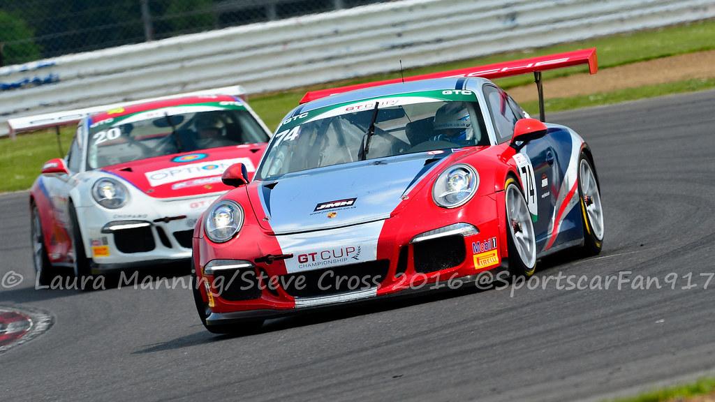 Ross Mcewen Colin Paton Porsche 991 Gt3 Cup Gt Cup Cham