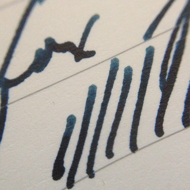 Noodler's Blue-Black