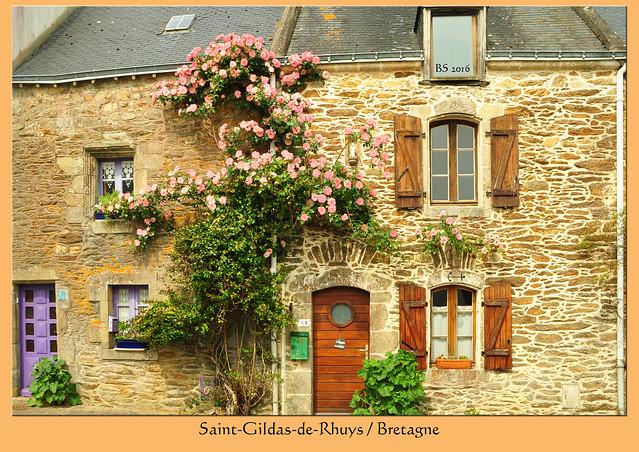 Frankreich - Bretagne - Rhuys-Halbinsel - Saint-Gildas-de-Rhuys - Foto: Brigitte Stolle 2016