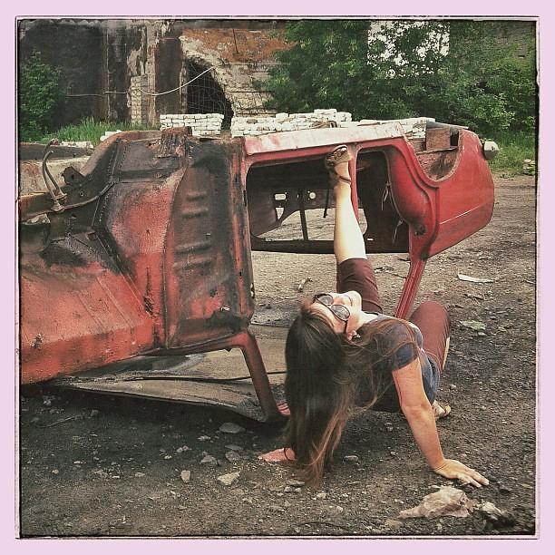 Sexy Girls  Old Vintage Cars   Nrey  Flickr-4559