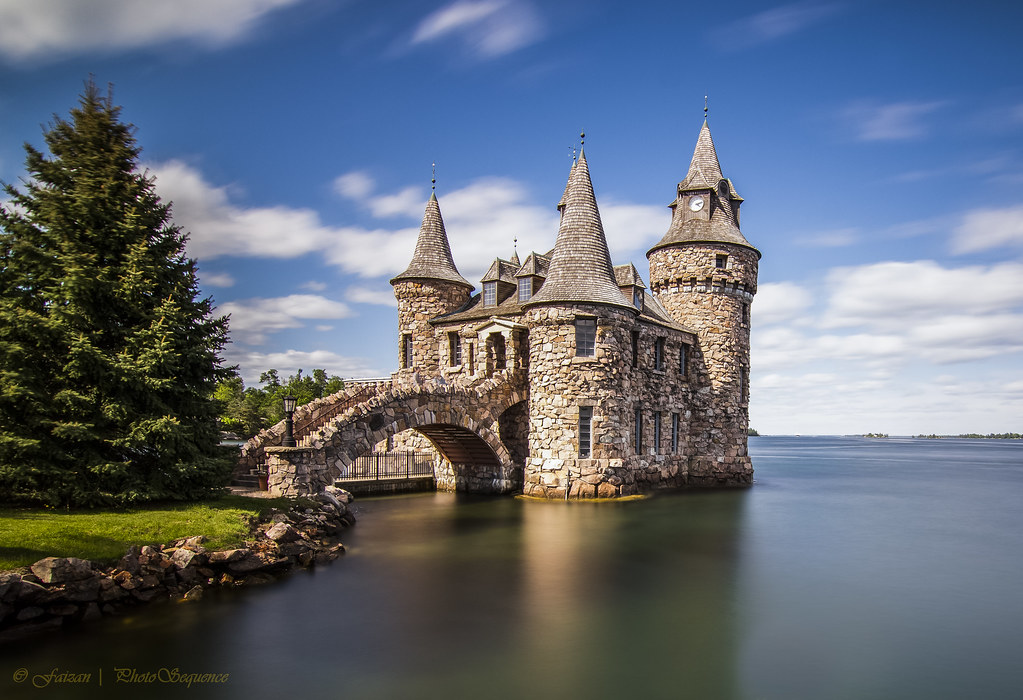 Boldt Castle - Small Castle | Small Castle behind the