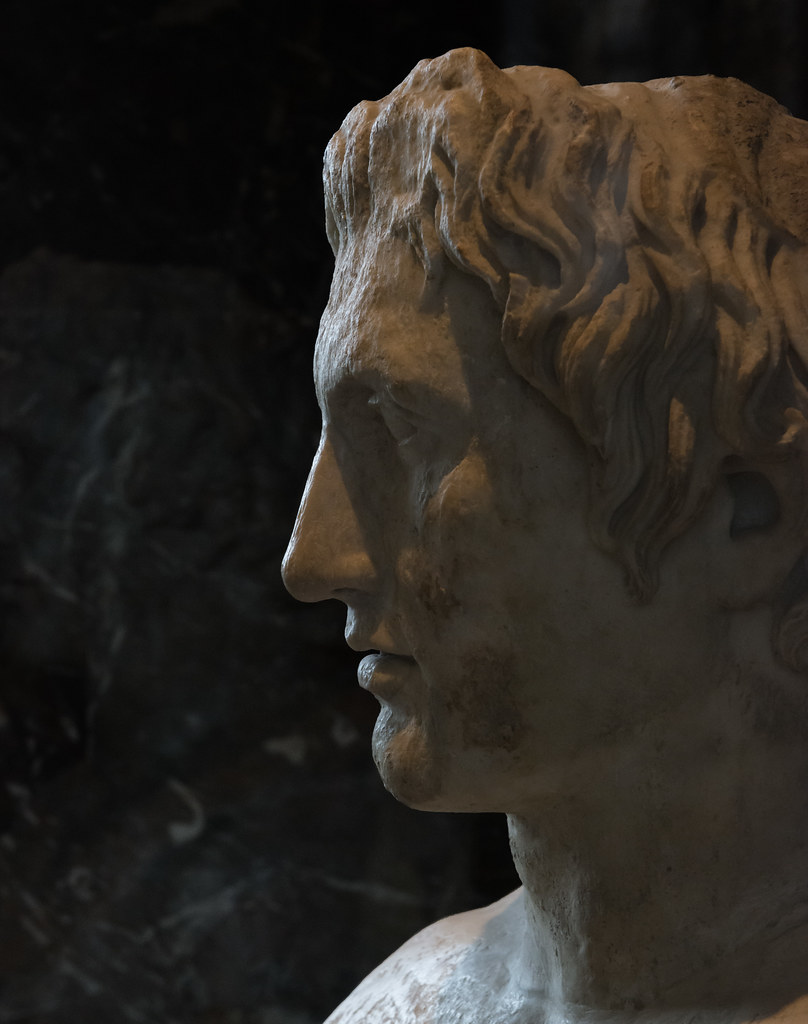 The Louvre Portrait Of Alexander The Great Thanks To The