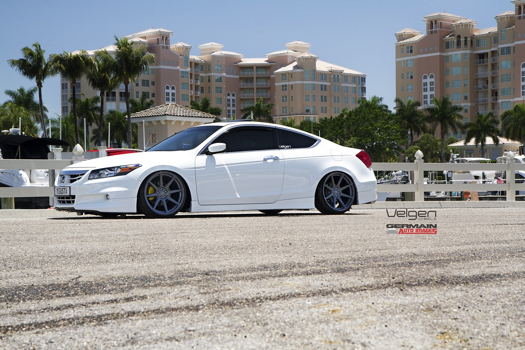 Lowered Honda Accord Coupe Honda Accord Coupe on