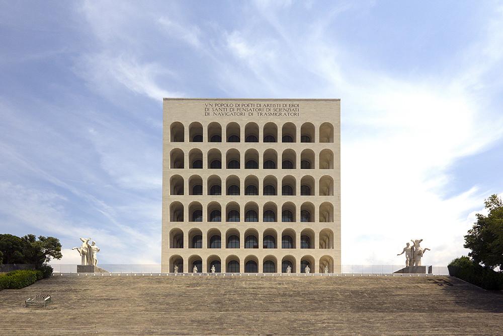 Palazzo della civilta italiana designed by giovanni for Palazzo della civilta italiana fendi