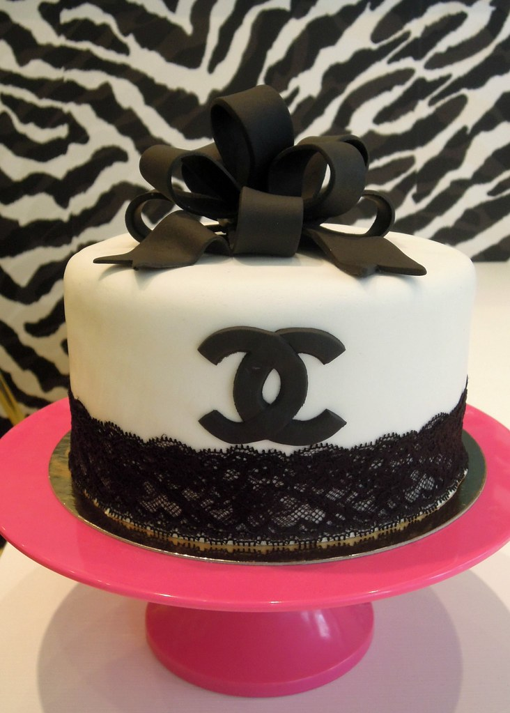 Coco Choco Chanel Chanel Inspired Cake For A Birthday