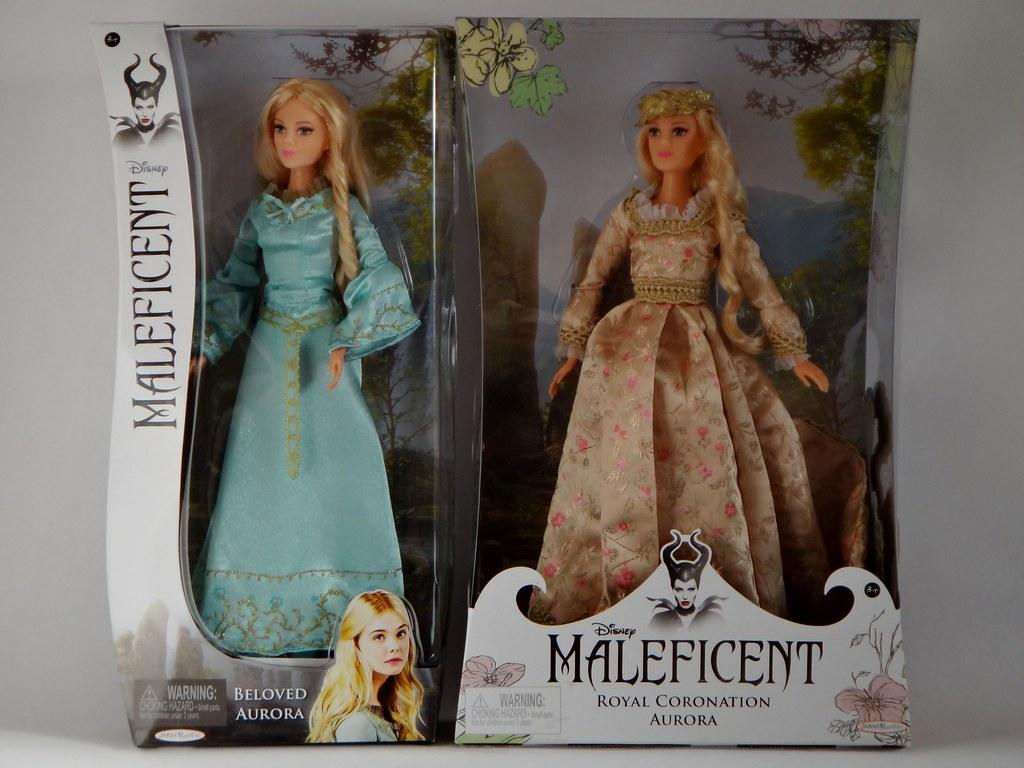 Beloved and Coronation Aurora Dolls - Disney Maleficent ...