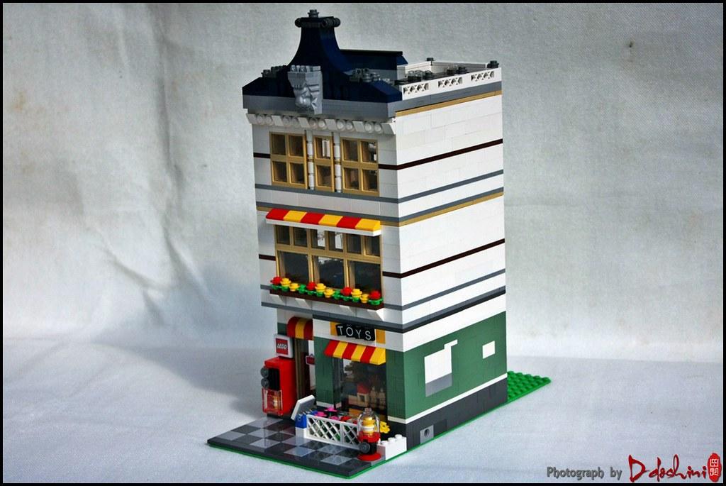 LEGO 31036 Toyshop MOD   Toyshop Modular House   Flickr