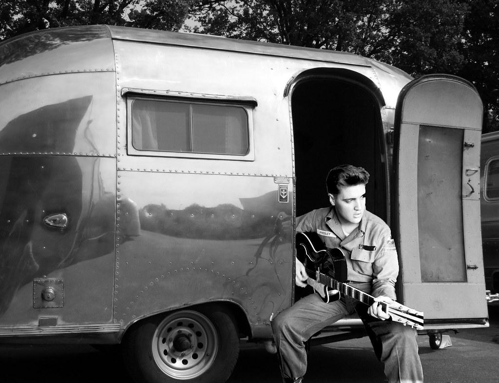 Airstream Travel Trailers >> Elvis in his Airstream | Frank DiBona | Flickr