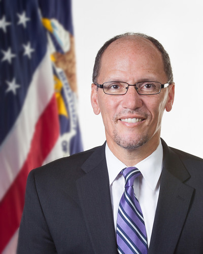 U.S. Labor Secretary Thomas Perez