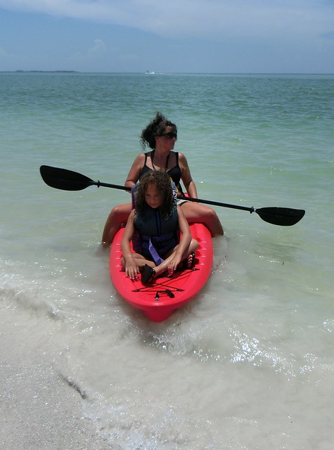 Kayaking with Aunt Dee