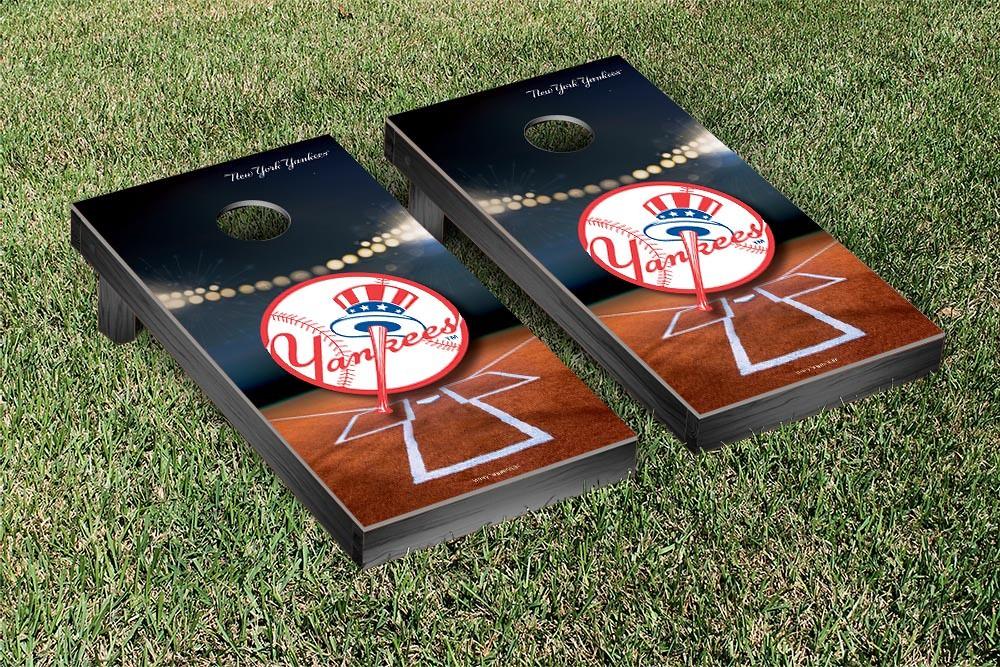 New York Yankees Stadium Cornhole Board