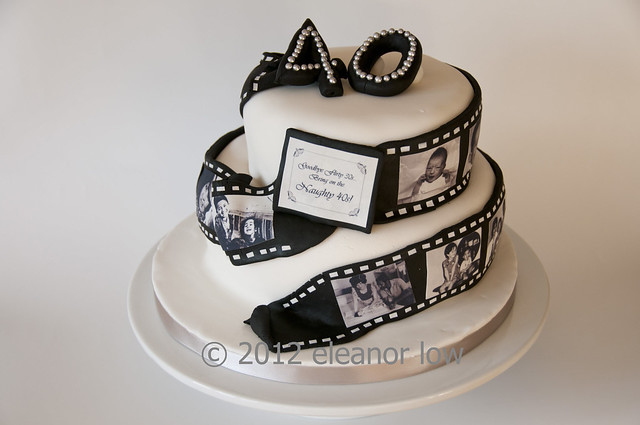 Cake With Photo Reel : Cake with film reel DI small Flickr - Photo Sharing!
