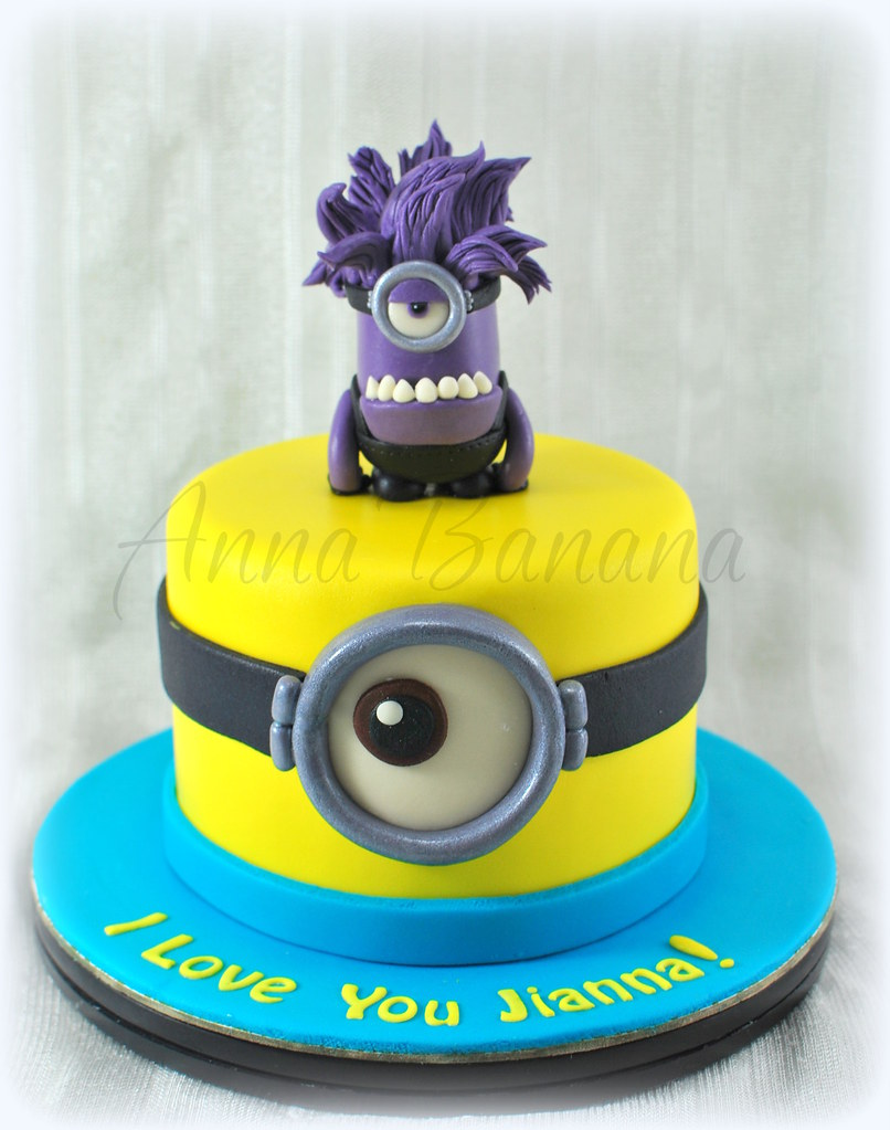 Purple Minion Cake Pan