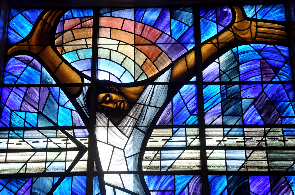 The welsh window in birmingham alabama in september for 16th street baptist church stained glass window