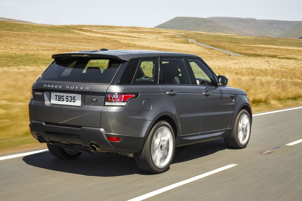 White Land Rover >> The All-New Range Rover Sport - Corris Grey | From the