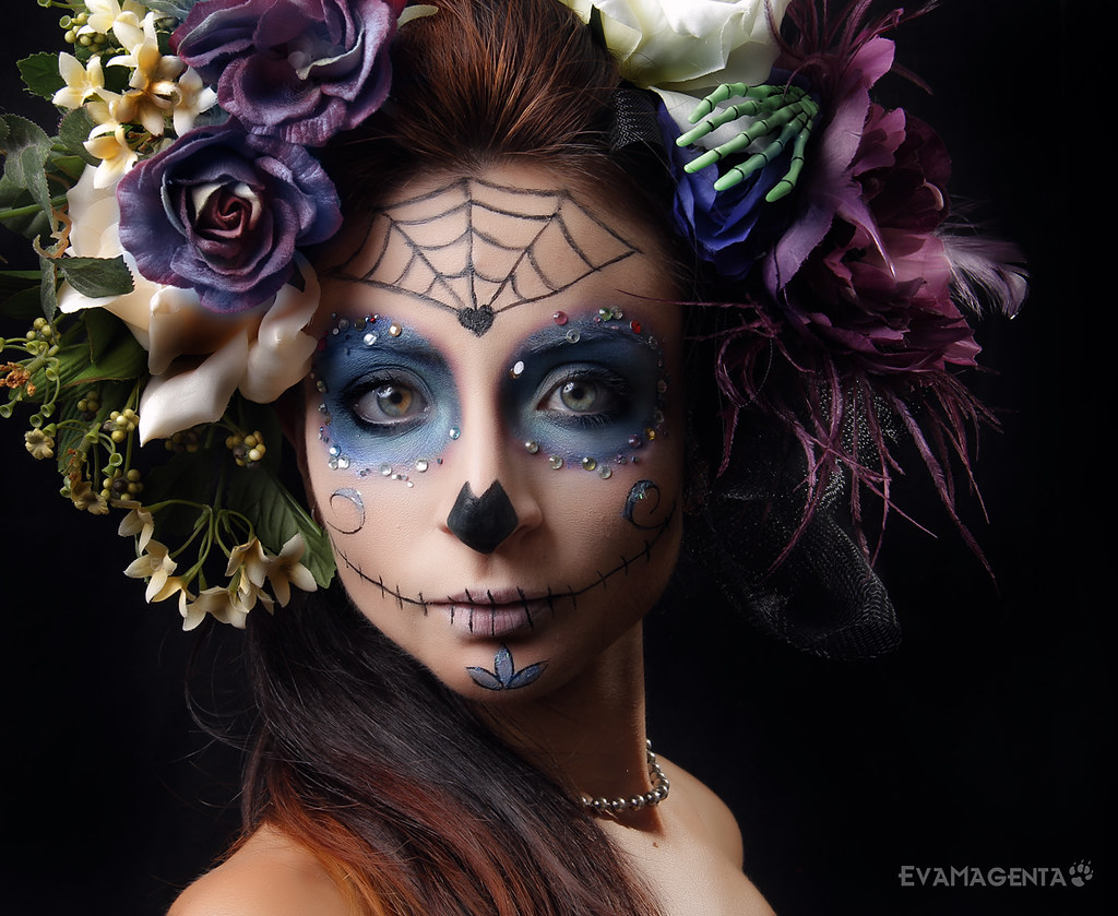 la catrina evamagenta autorretrato evamagenta selfportrai flickr. Black Bedroom Furniture Sets. Home Design Ideas