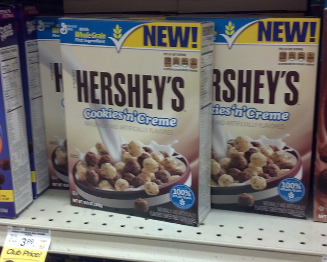 Hershey's Cookies 'n' Creme Cereal | Flickr - Photo Sharing! Hershey Cookies And Cream Cereal