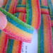 Rainbow candy baskets