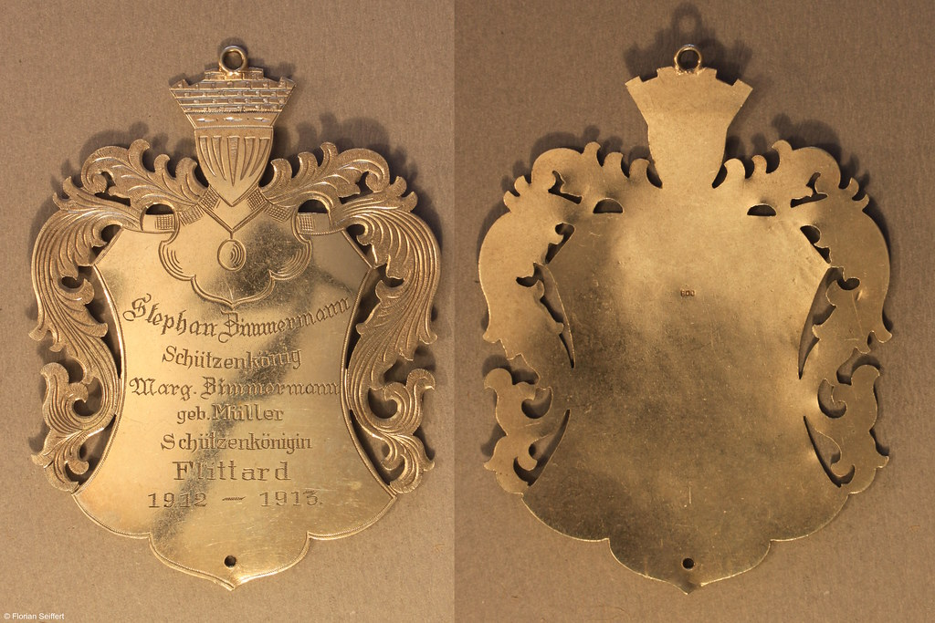 Koenigsschild Flittard von zimmermann stephan aus dem Jahr 1912