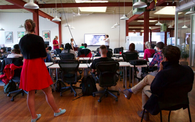 Peace Corps Mapathon at Mapbox SF