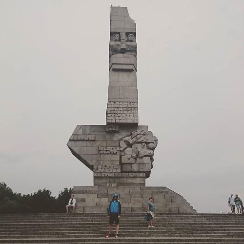 Monumento a los caídos en Westerplatte