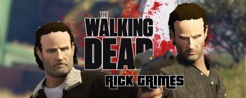 Mod Rick Grimes GTA V